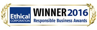 Ethical Corporation 2016 Winner - Responsible Business Awards