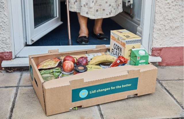 Lidl Tackling Hunger Food Parcel