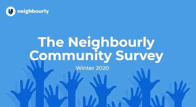 community survey winter header