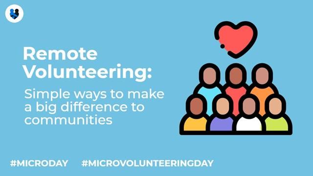remote volunteering micro volunteering day