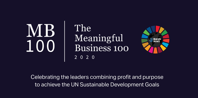 top 100 Meaningful Business Leader for 2020