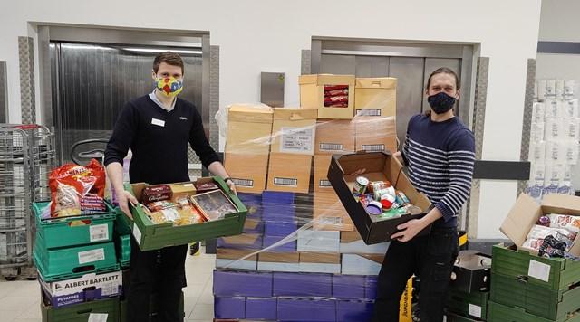 lidl food surplus donations