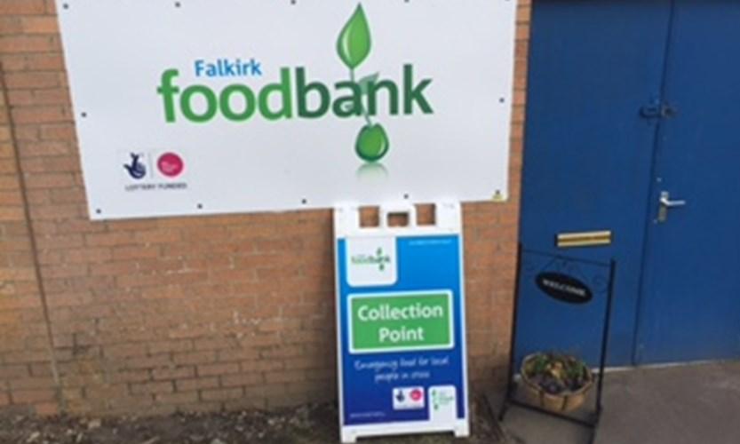 Volunteering In Falkirk Foodbank Neighbourly