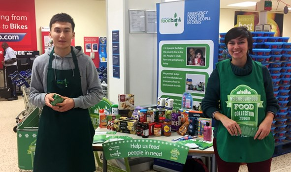 Chalk Farm Foodbank Volunteering Neighbourly