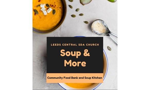 Leeds Central Sda Church Soup More Community Food Bank